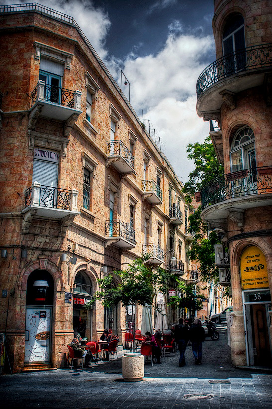 Jerusalem Walks: Near the Yafo st.